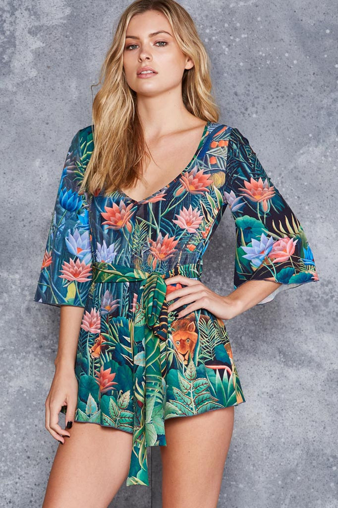 The Dream Kimono Playsuit