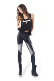 Spartans Liquid Silver Leggings