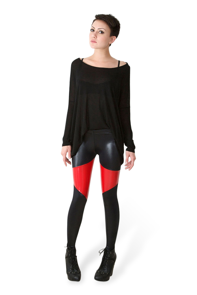 Spartans Red Leggings