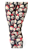 Splatter Skull HWMF Leggings