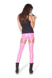 Suspender Pink Leggings