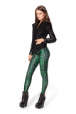 Tartan Green Leggings