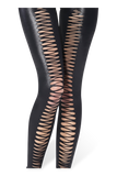 Teardrop Laces Front Leggings