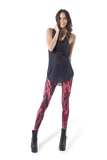 Toxic Electro Red Leggings