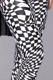 Trippy Chess Leggings