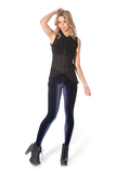 Velvet Deep Blue Leggings