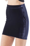 Velvet Deep Blue Skirt