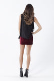 Velvet Mulled Wine Skirt