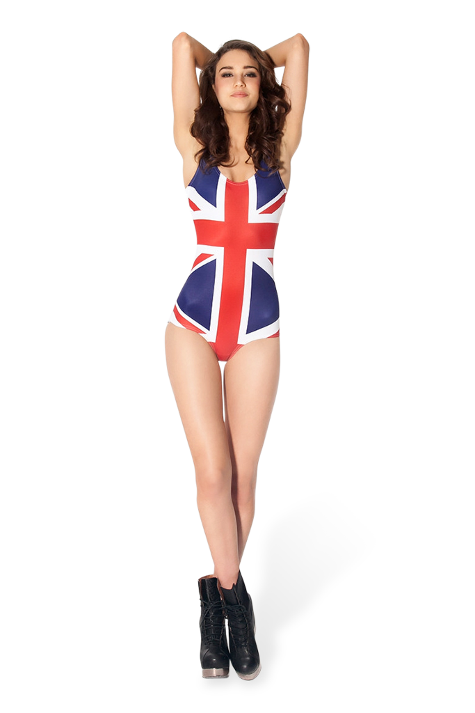 World Flags - UK Swimsuit