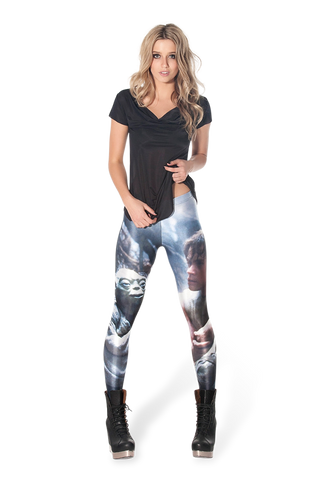 Yoda and Luke Leggings - LIMITED