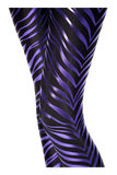 Zebra Purple Leggings