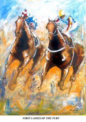 Makybe Diva and Sunline -  First Ladies