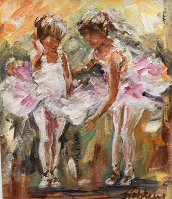 Little Ballerinas SOLD