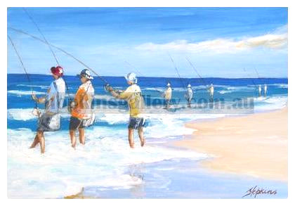 Beach Fishermen
