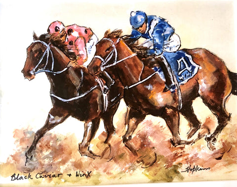 Winx vs Black Caviar