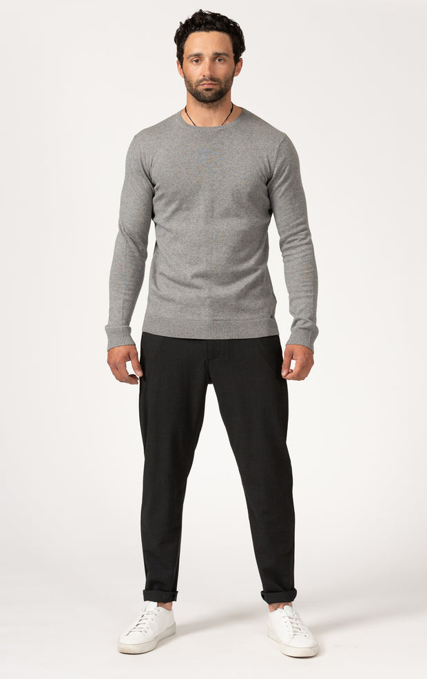 12GG COTTON CASHMERE LS JERSEY
