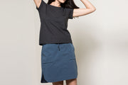 PATCH POCKET SHORT SKIRT