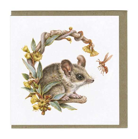Courtney Brims - Sandhill Dunnart Card
