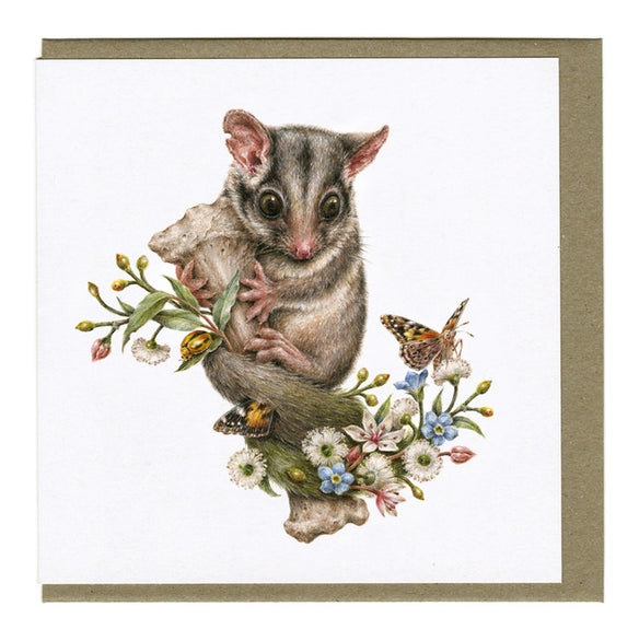 Courtney Brims - Leadbeater's Possum Card