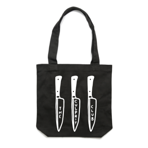 BACK STABBER TOTE BAG