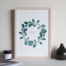 Load image into Gallery viewer, Eucalyptus Wreath Print
