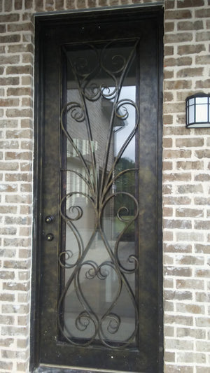 Home100 36''x96''  Iron Single Door Installed in MS