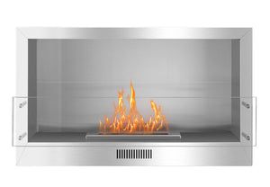 38.5'' Smokeless Ethanol Firebox, Single-Sided Unit, W38.5''xH23''xD13.4''