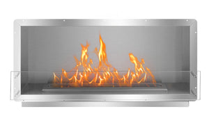 52'' Smokeless Ethanol Firebox, Single-Sided Unit, W52''xH26''xD14.8''