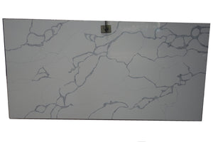 Calacatta Khaki White Quartz Slabs #VM, 126''x63''x1.18'', $65/sf include installation