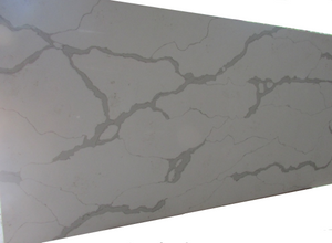 Calacatte White Quartz Slab #01, 126''x63'', $65/sf include installation