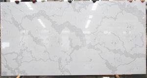 Calacatte White Quartz Slab #5031, 126''x63''x1.18'', $65/sf include installation