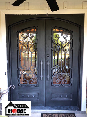Home100 72''x96''  Iron Door Installed in Jackson, MS
