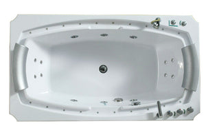 "M-B8065 Luxury Hydro Massage Bathtub,71L""X39""WX22.5""H"
