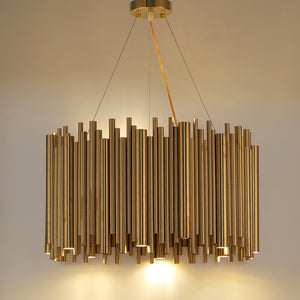 New Design Gold Brass Stainless Steel Chandelier-1