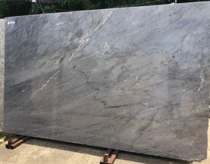 Pietra Gray Quartz Slab,121''x75''x1.18'', $60/sf include installation