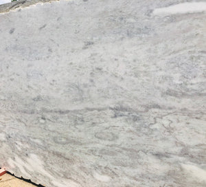 White Montblanc Marble Slab,118''x73''x1.18'', $60/sf include installation