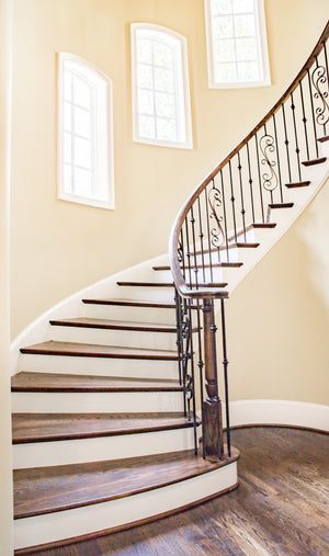 Custom Iron Stair Railing,HSR0081