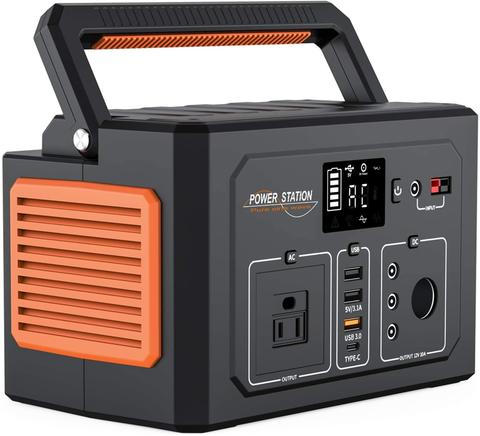 Portable Power Station 400Wh, Multipurpose Portable Power Supply For Home, Travel And Camping With Type-CPortable Power Station 400Wh, Multipurpose Portable Power Supply For Home, Travel And Camping With Type-C