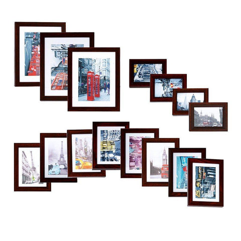 Bosonshop 15pc Multi Pack Picture PVC Frame Value Set