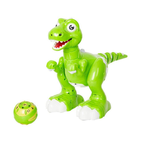 Bosonshop Kids Remote Control Interactive Spraying Water Dinosaur