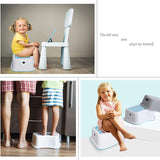 Bosonshop  2 Pack Kids Non-Slip Step Stools for Toilet Potty Training