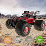 Bosonshop 2.4GHz RC Off-Road DIY Vehicles 1:28 High Speed Climbing Truck Car