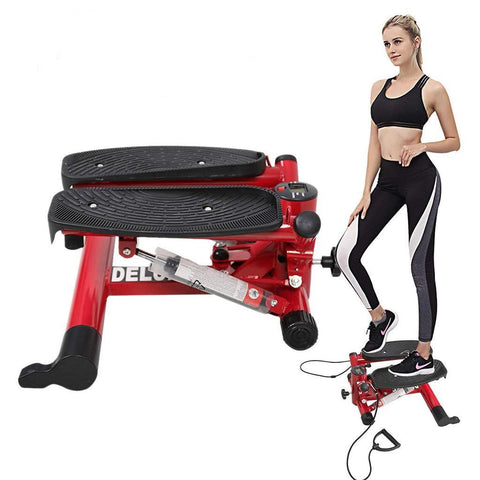 Bosonshop  Aerobic Fitness Exercise Machine, Red