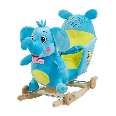 Bosonshop Baby Kids Rocking Horse Toy Child Wooden Plush