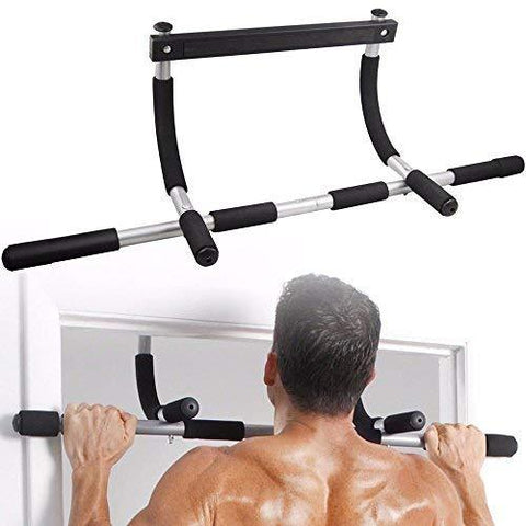 Bosonshop Pull Up Bar Exercise Equipment, Family Gym Indoor