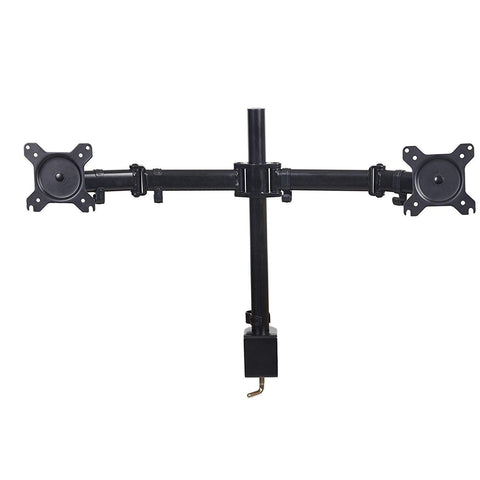 Bosonshop Dual Arm Adjustable Monitor Mount with Clamp for 2 LCD LED Computer Screen