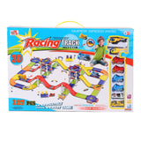 Bosonshop Super Tracks DIY Assembly Race Track Toy for Kids