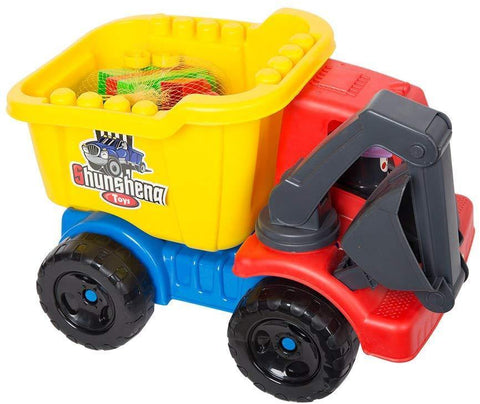 Bosonshop Water Fun Kids Summer Game Beach Truck Car Building Block Car
