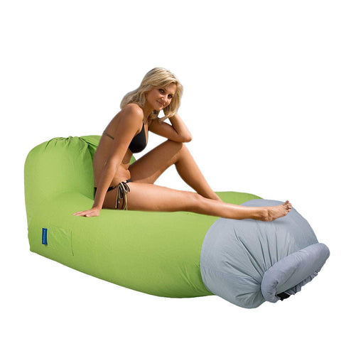 Bosonshop Portable Outdoor & Indoor Inflatable Air Lounger Sofa with Handy Storage Bag for Travelling