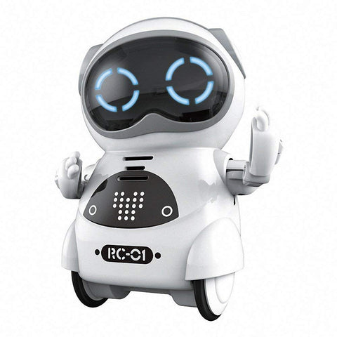 Bosonshop Smart Mini Pocket Robot Toys for Kids Dancing Robot for Toddlers
